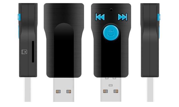 Bluetooth amplfier receiver, SD card reader BC07